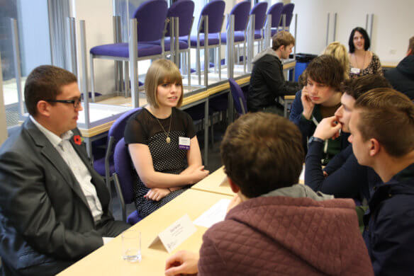 Careers Speed Dating at Leeds Metropolitan University