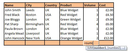 ppc using wacky excel spreadsheets top 5 functions search