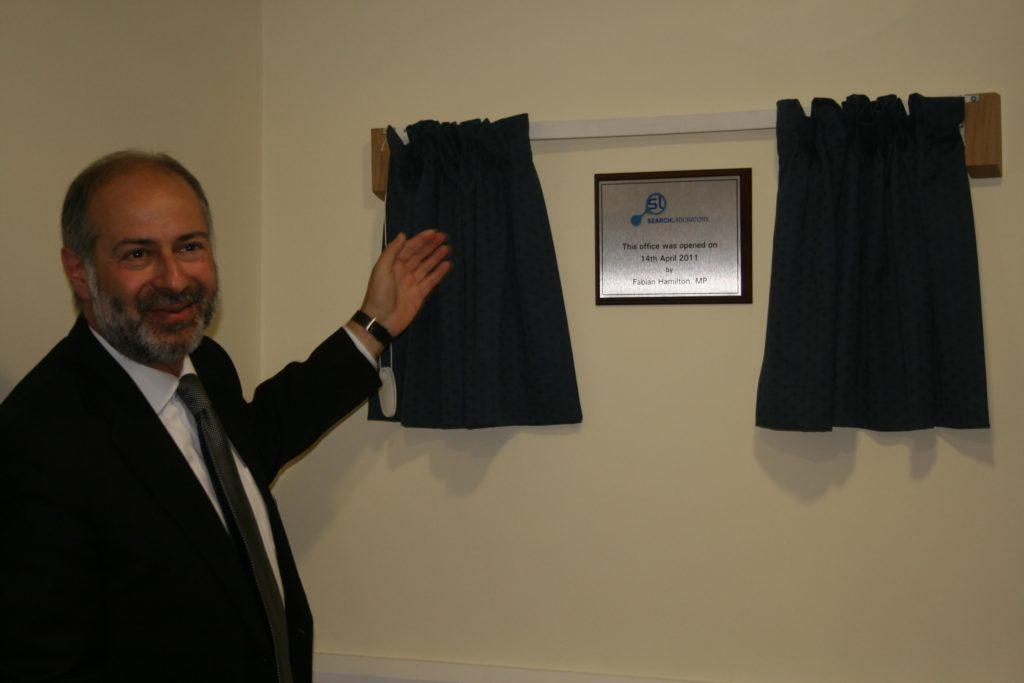 Fabian Hamilton MP - Official Opening