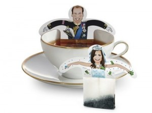 Royal Wedding Kate & William Tea Bags