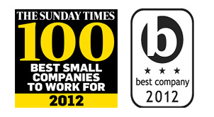 Sunday Times Top 100 Tenth Place for Search Laboratory