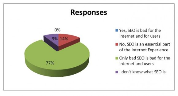 Result from SEO Survey