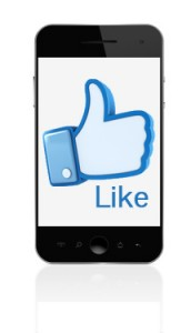 Mobile social interactions - likes and shares