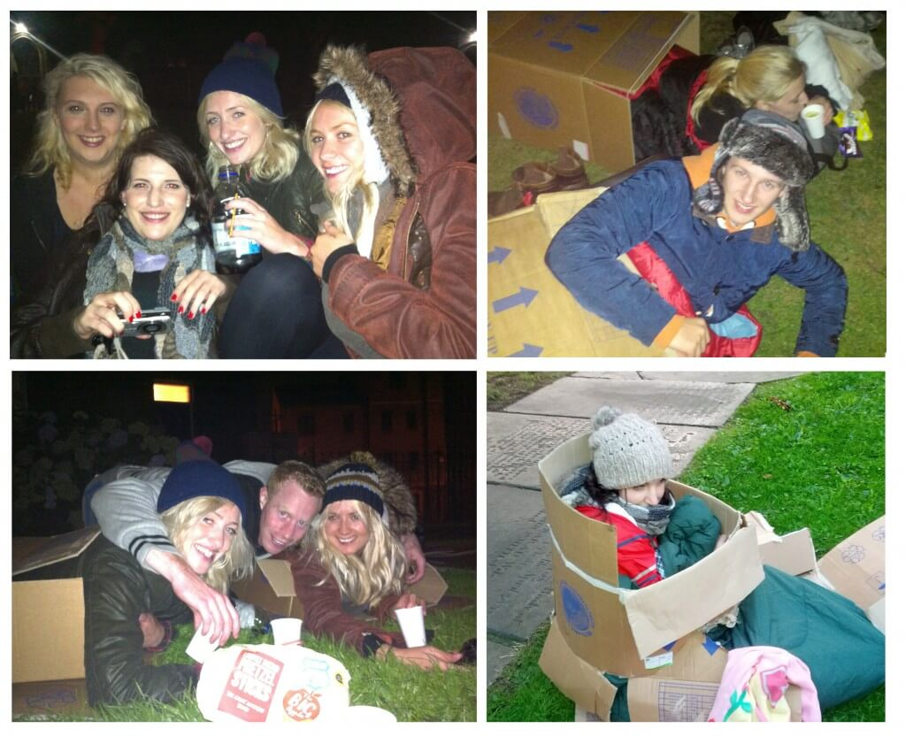 Search Labs Sleep Out for Charity (again)
