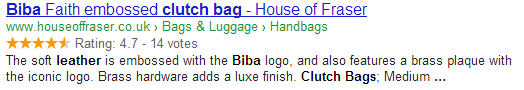 'Bag' Search Reuslts