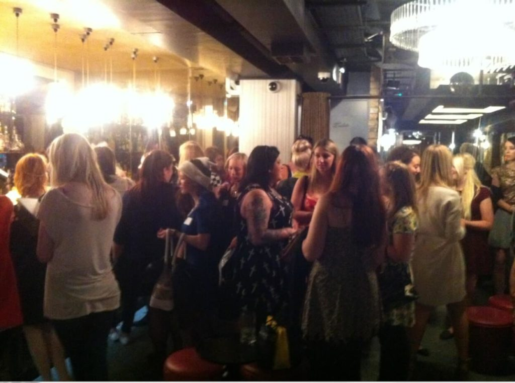 Search Laboratory and Quiz Clothing at #LDNBloggersParty