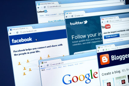 web browsers and social media