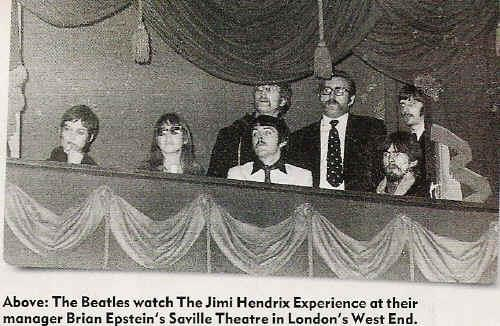 Hendrix and the Beatles