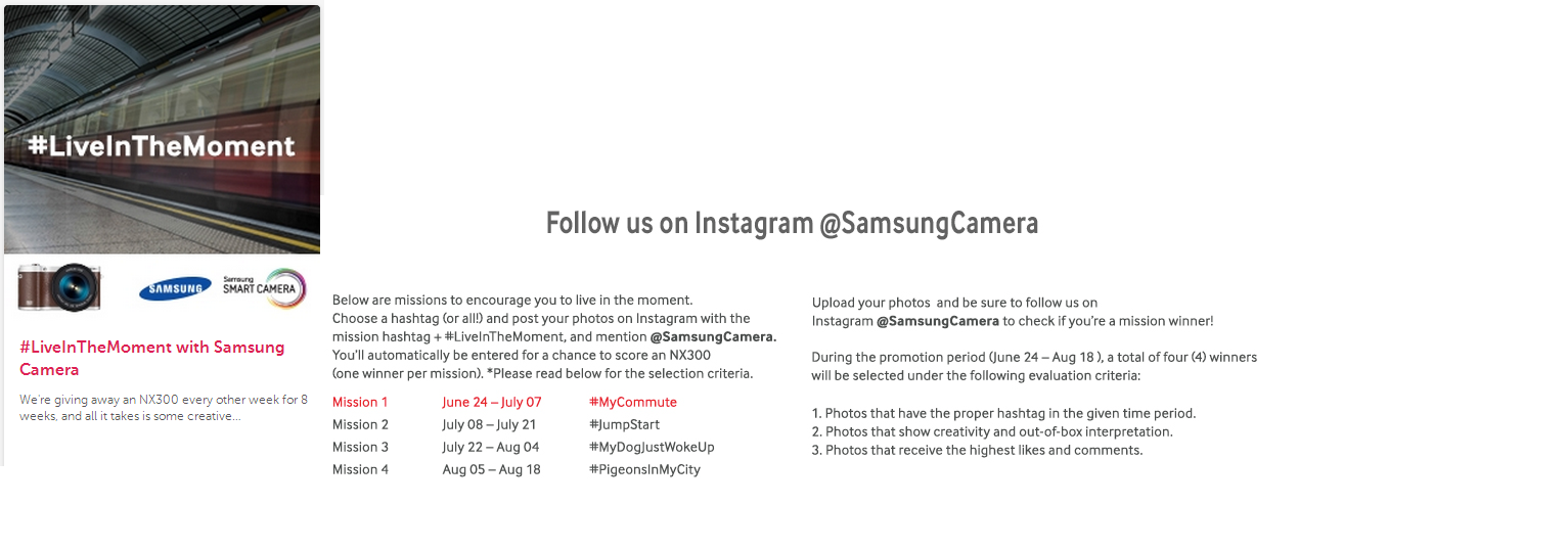 Samsung contest