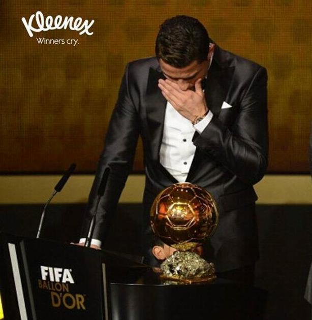 Ronaldo Kleenex ad