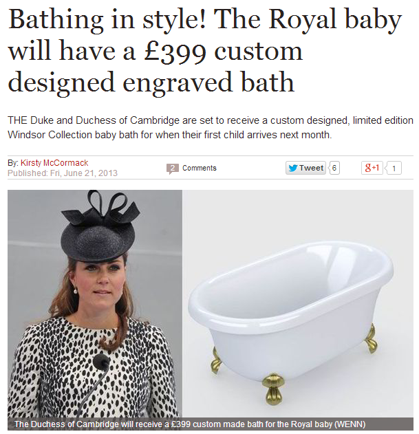 royal baby PR