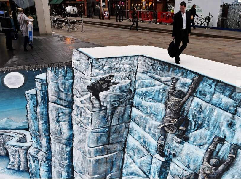Game of Thrones bring The Wall to London