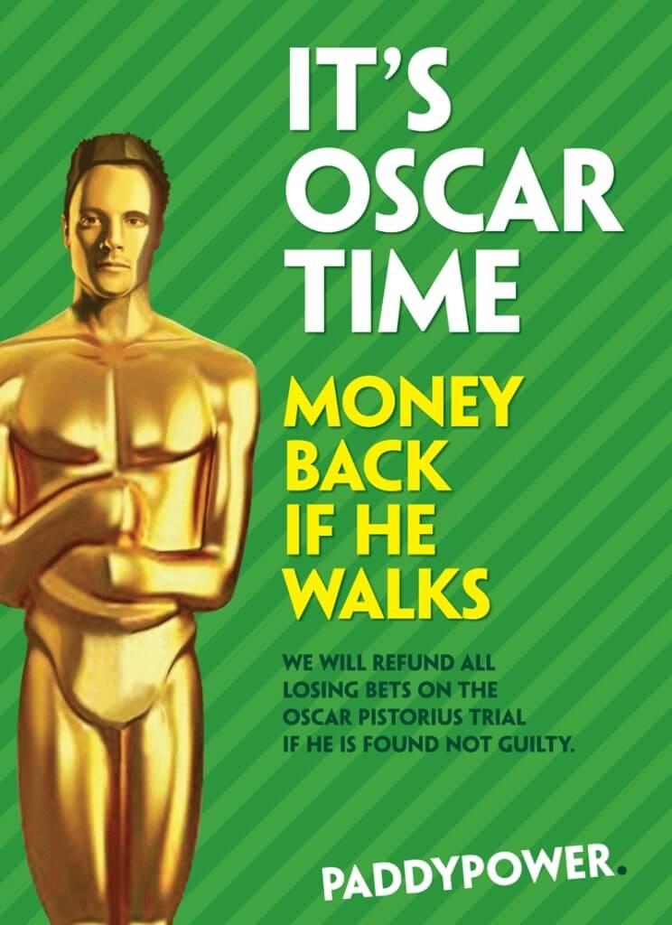 Paddy Powers controversial Oscar ad