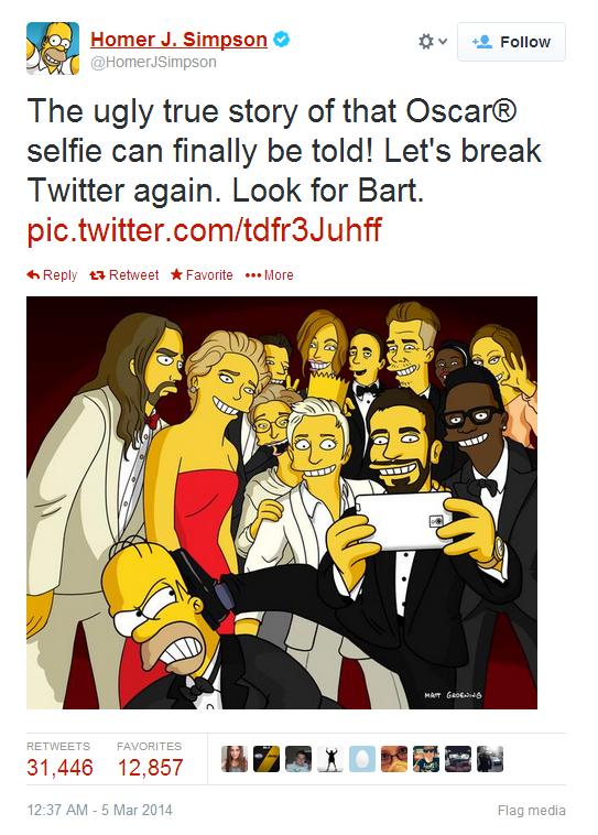 Homer tweet