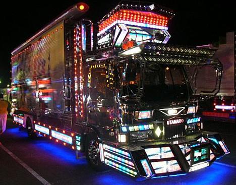 Japan's Galapagos trucks