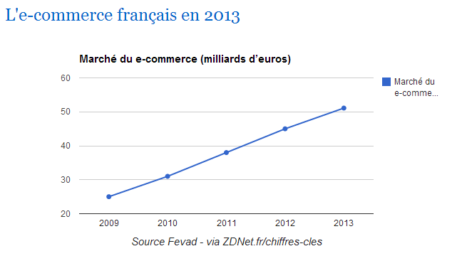 French ecommerce in 2013
