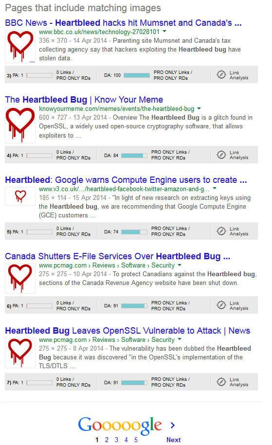 Heartbleed virus photo