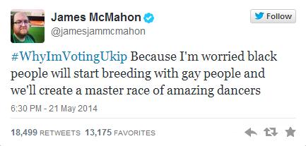 UKIP hashtag