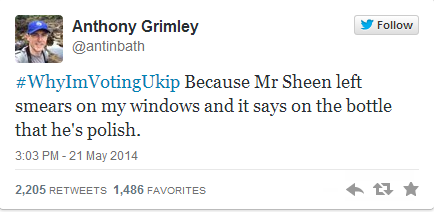 Why I'm voting UKIP