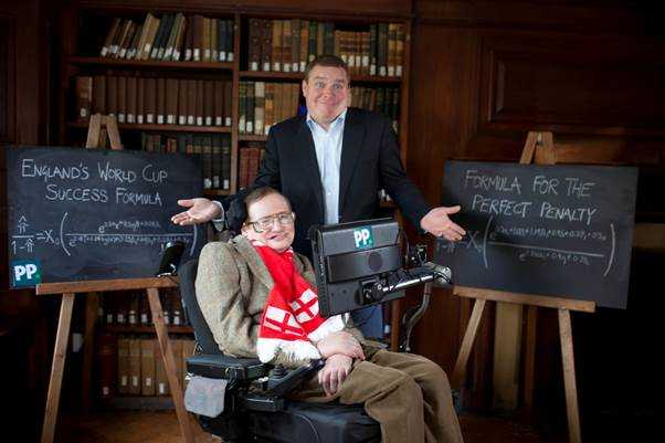 Stephen Hawking and Paddy Power