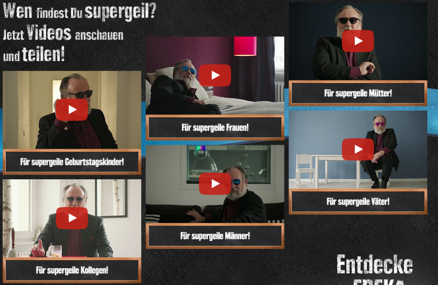 Edeka Geiz ist geil campaign