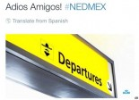KLM Tweet to Mexico