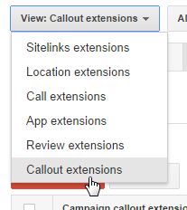 callout extensions