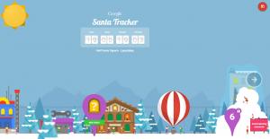google santa track