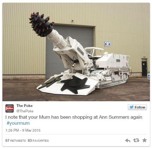 Penguin 'YourMum' Hastag Backfires