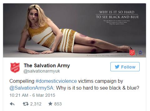 Twitter Newsjacking Eg - Salvation Army
