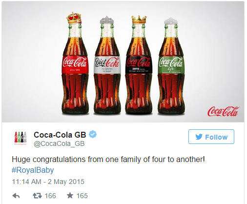 Coca Cola Twitter Newsjacking