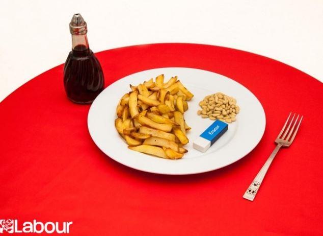 Labour Plate - Credit Sam Cornwell