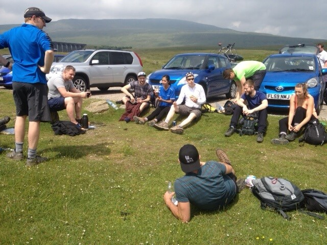 SL team Journey to Ribblesdale
