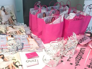 #QuizProm Goody Bags