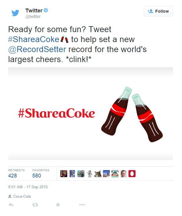 coke tweet