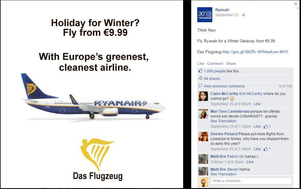 #1 Ryanair Das Flugzeug