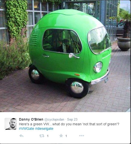 #15 Green VW Tw