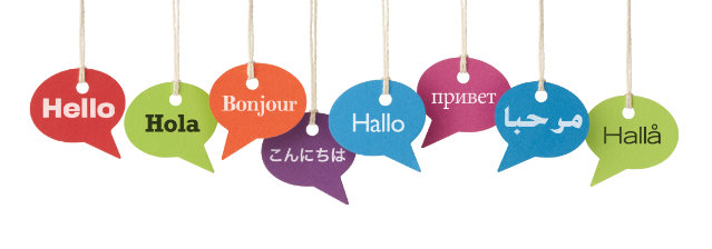 Hello in 8 languages