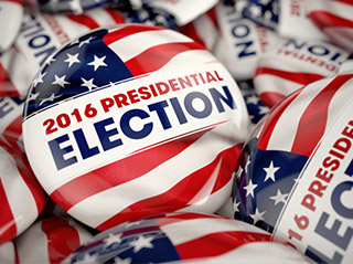 US Election: European Searches