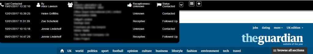 LinkLab Toolbar