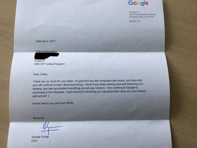 Tim Pichai Reply
