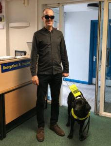 Six things I learned being blind for a day