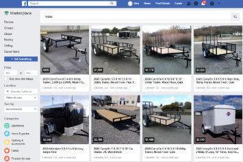 Facebook Marketplace native listings