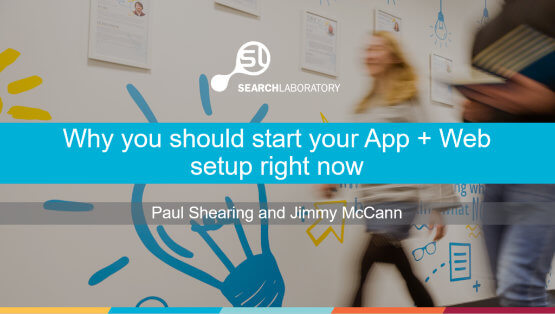 Why you should start your App + Web setup right now