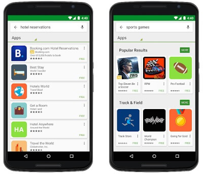 Google Launches Search Ads on Google Play