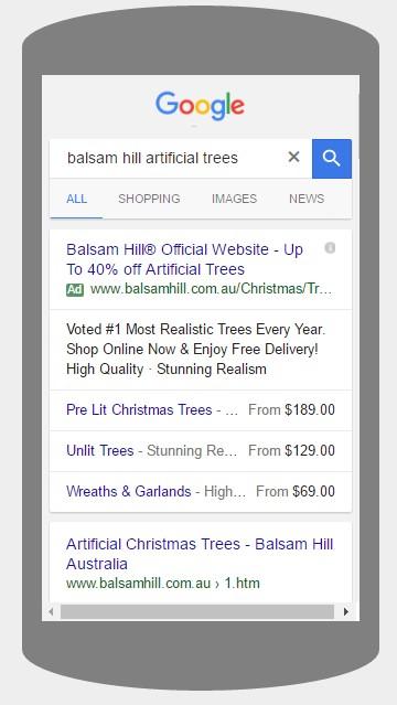 Google Price Extension Ads US